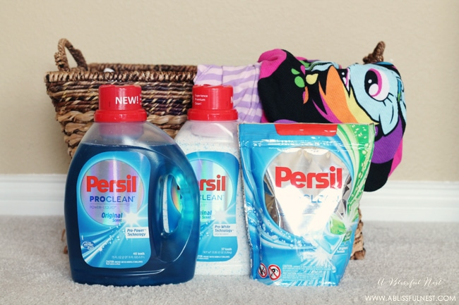 Persil ProClean Laundry Detergent via A Blissful Nest