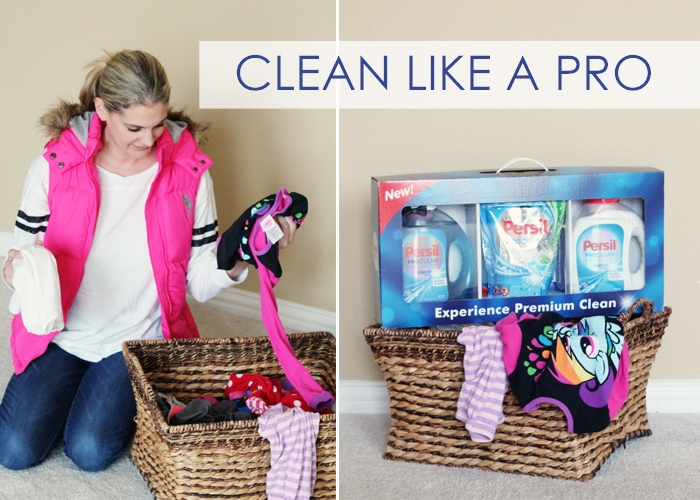 Laundry the Easy Way With Persil ProClean