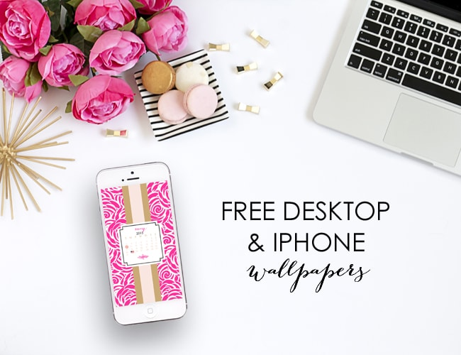 May Free Desktop & iPhone Wallpapers by A Blissful Nest 1