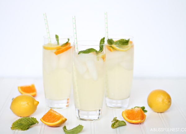 Orange Lemonade Punch Recipe
