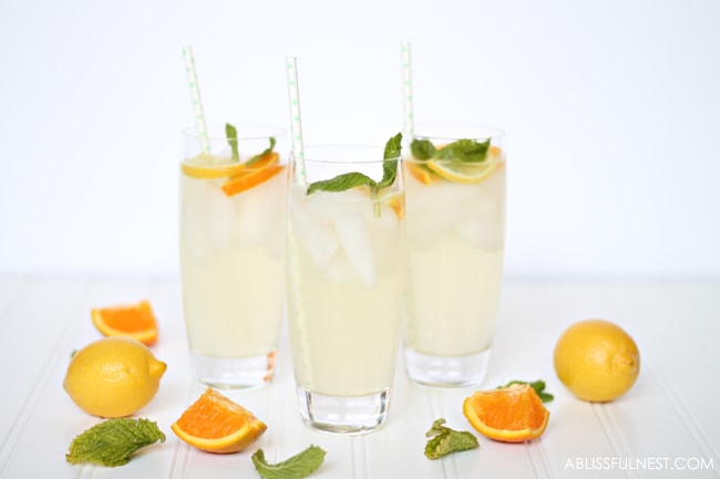 Orange Lemonade Punch Recipe