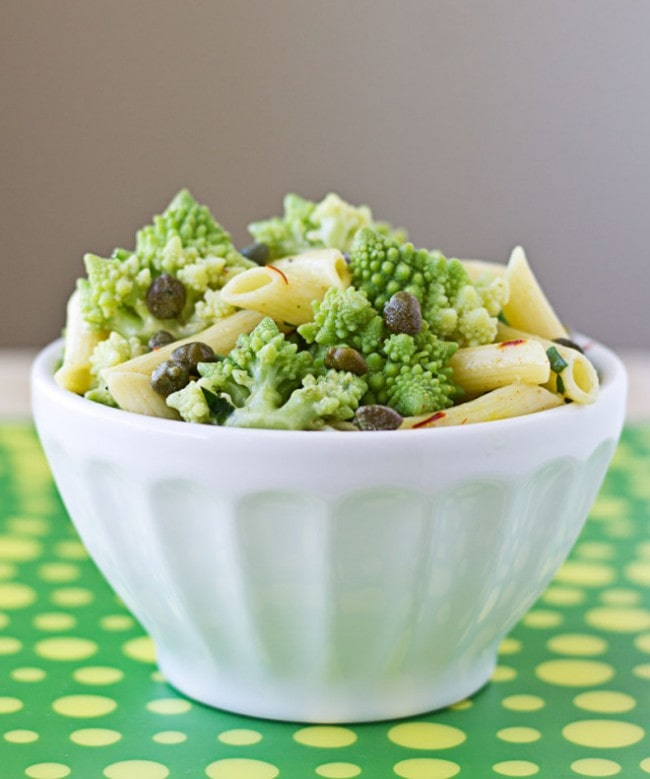 Pasta Salad with Romanesco