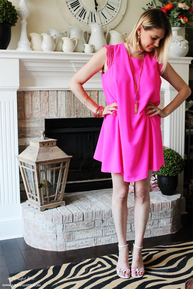 Summer Date Night Outfit via A Blissful Nest