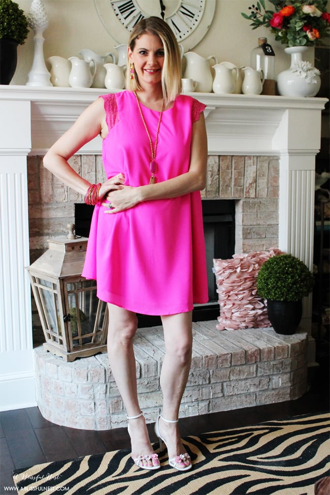 Summer Date Night Outfit Ideas via A Blissful Nest