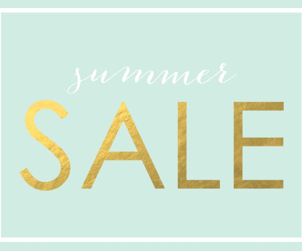 Shop News – Summer Sale