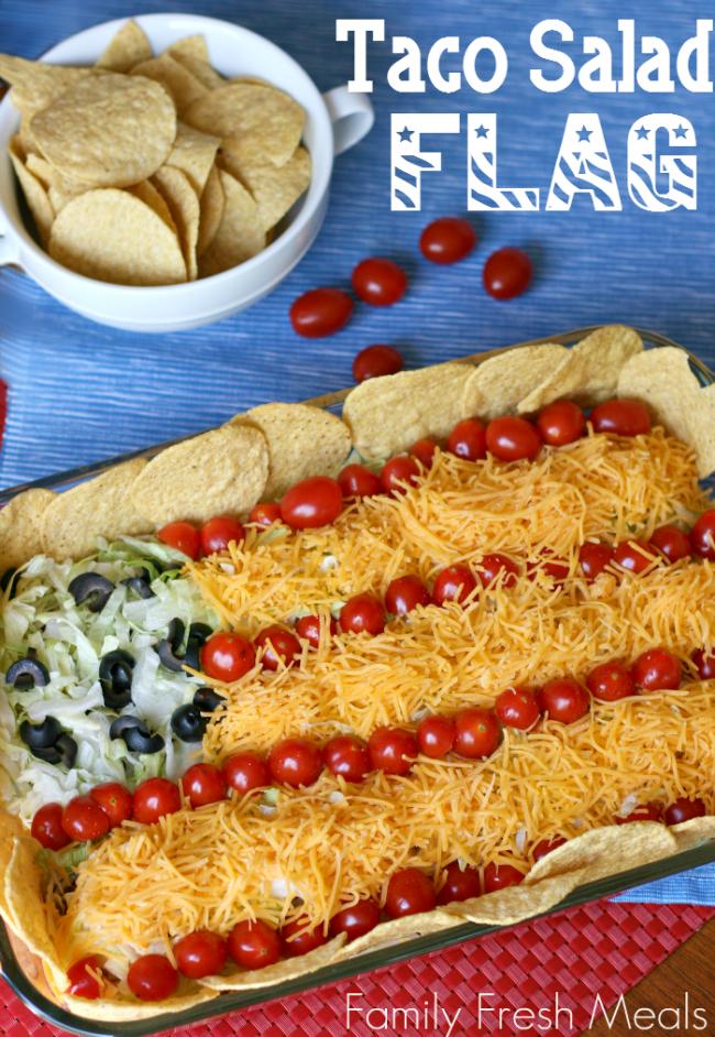 Taco Salad Flag