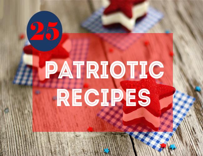 25 Patriotic Recipes