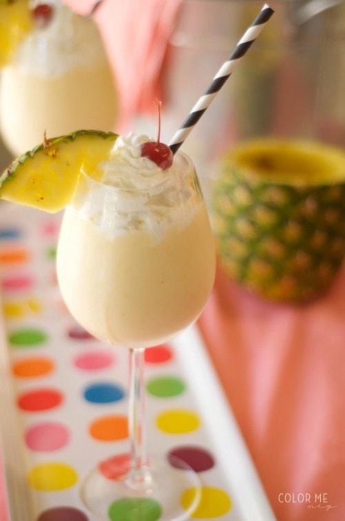Mango Pina Colada Smoothie