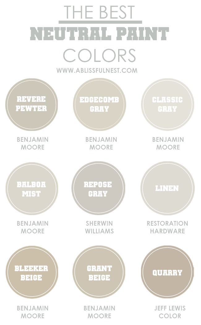 neutral paint colors tips hints for the perfect color