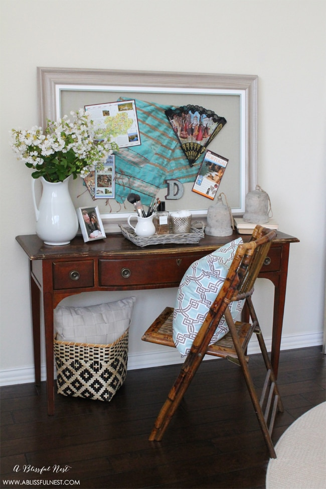 Shadow Box Framing Ideas and Styling via A Blissful Nest