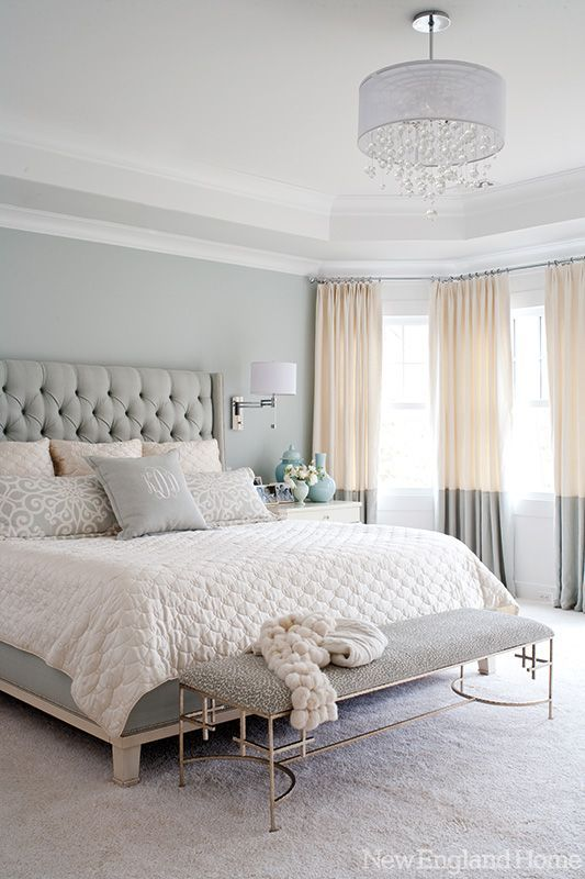 Painting The Wall A Color Helps To Add Visual Interest Behind Bed More Ideas