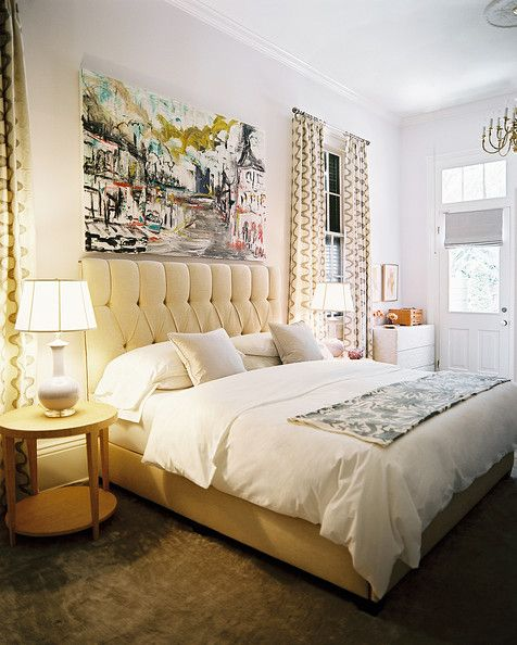 Interior Over The Bed Decorating Ideas ideas for decorating over the bed add a oversized piece of artwork above bed