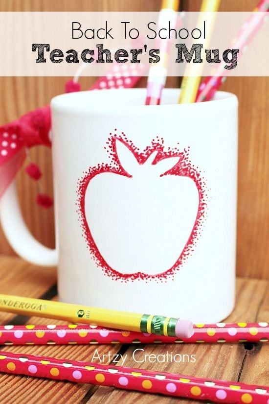 Back to School Teacher's Apple Mug
