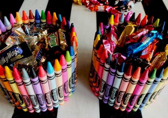 Crayon Candy Dish