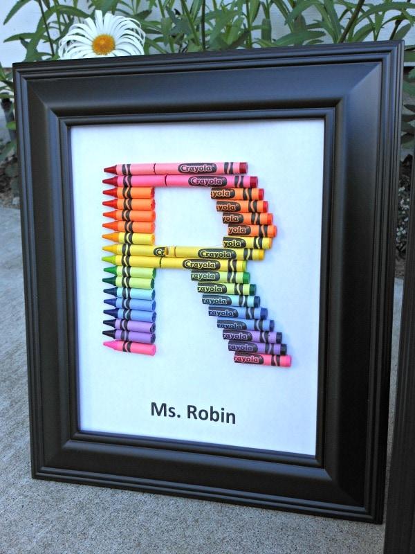 Crayon Monogram