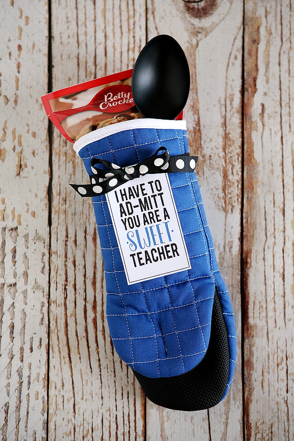 I Ad-MITT You're a Sweet Teacher Gift