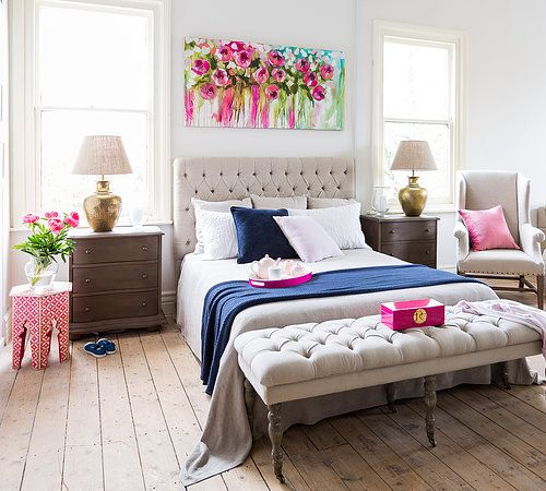 Ideas for decorating over the bed - Over the bed art ...