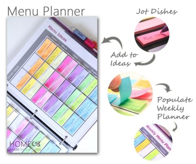 Amazing home organization ideas! See more on https://ablissfulnest.com/ #organizationideas #organize #homeorganization