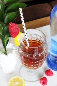 Spiked Raspberry Iced Tea