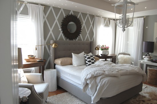 create a accent wall in a bedroom