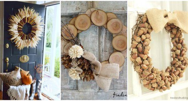 30 DIY Fall Wreaths