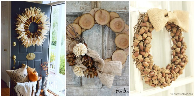 30 DIY Fall Wreaths ...