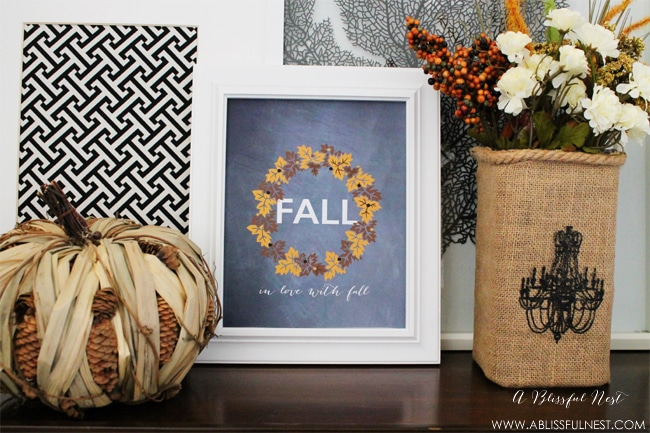 Fall Free Printable by A Blissful Nest 001