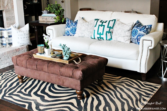 How a rug can change a room