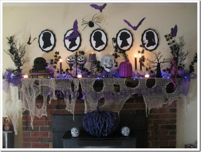 It's a Horvath's Life Halloween Mantel