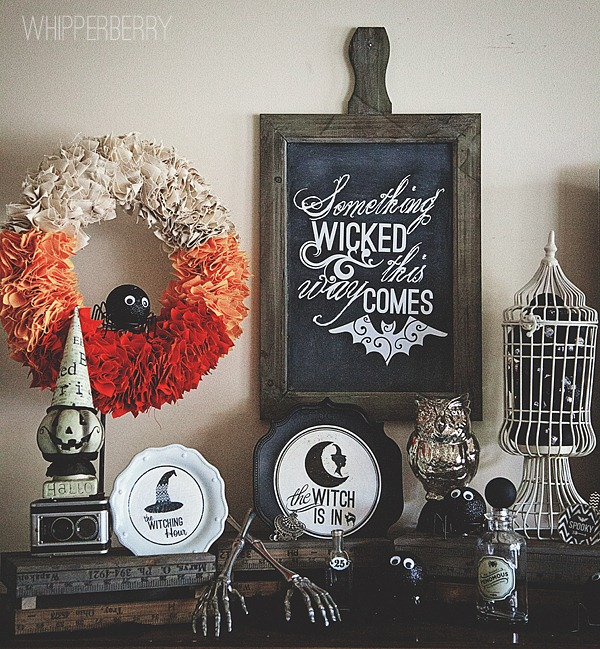 whipperberry halloween mantel - Halloween Mantle