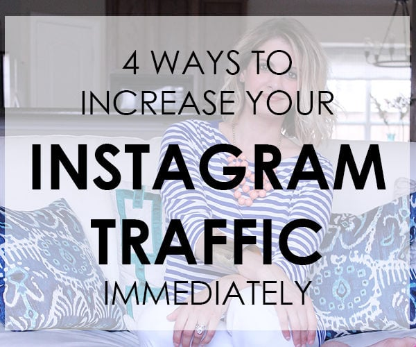 4 Ways To Increase Your Instagram Traffic Immediately