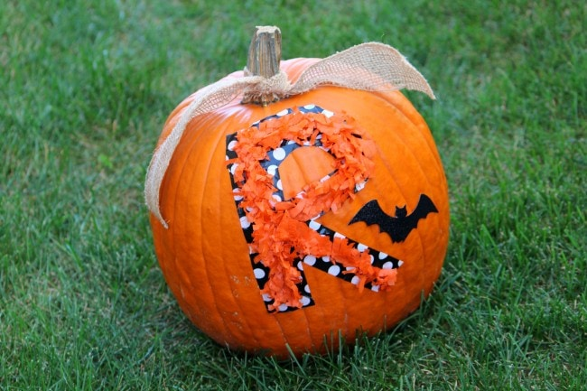 No Carve Pumpkin Ideas by Ellery Designs