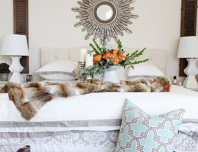 Master Bedroom Refresh + Tips On How To Change Up Your Room