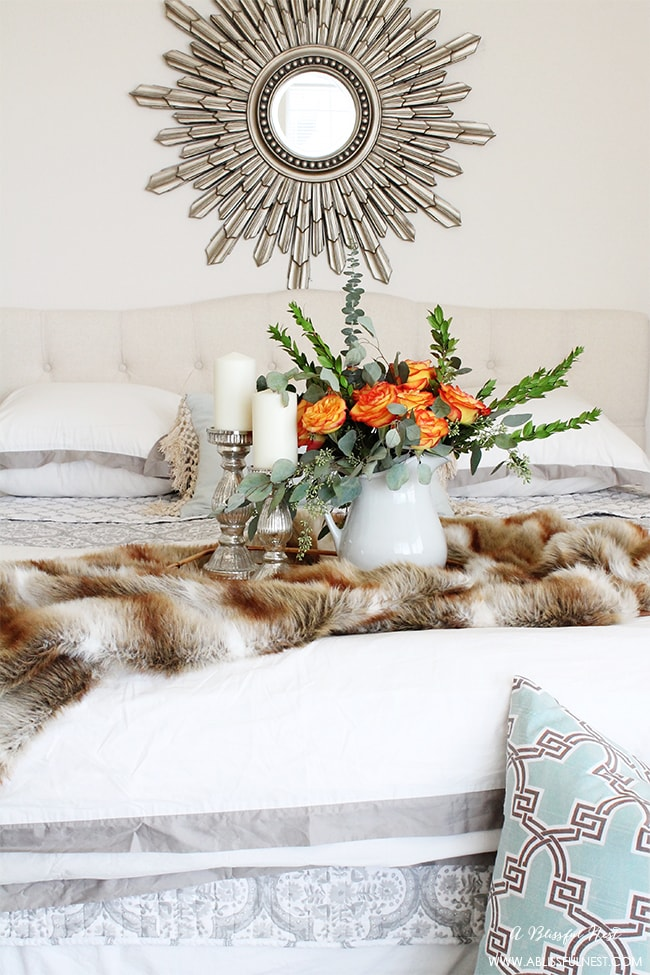 Master Bedroom Refresh by A Blissful Nest