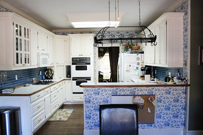 The Mateer Residence – Kitchen Before + Plans