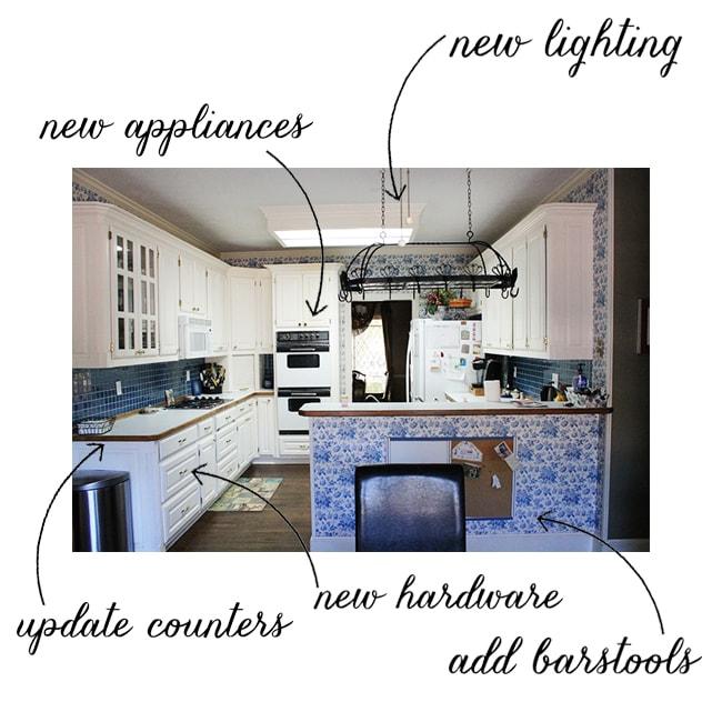 Mateer Residence - Kitchen Before