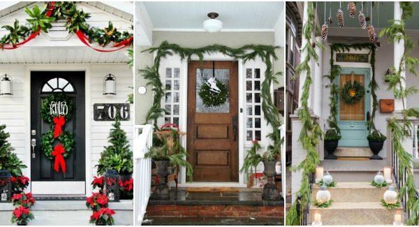 15 Best Christmas Porch Ideas