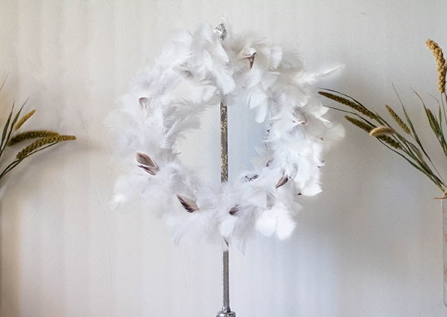 Feather Wreath Tutorial