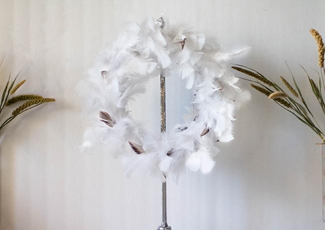 Feather Wreath Tutorial