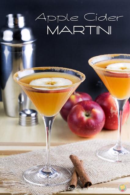 Apple Cider Martini Recipe