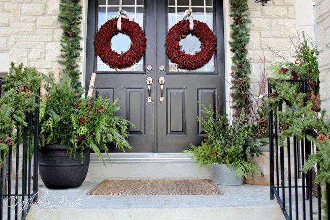 Christmas Porch 15 best christmas porch ideas - a blissful nest