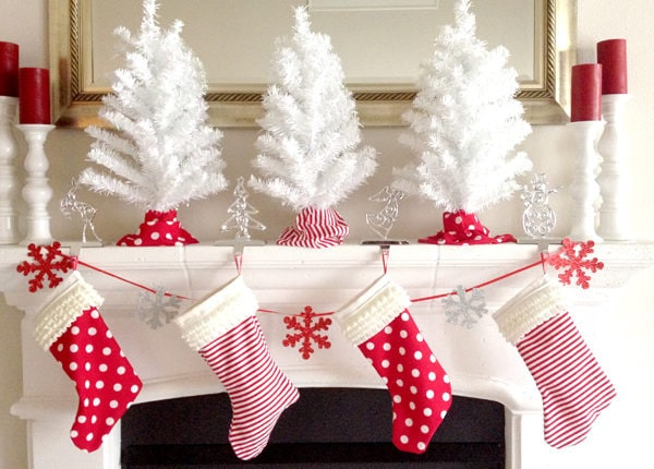 DIY Christmas Stockings Tutorial