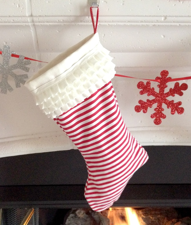DIY Christmas Stockings tutorial created by BellaGrey Designs