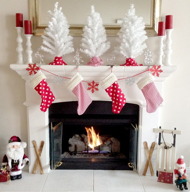 create your own diy christmas stockings with this step by step tutorial