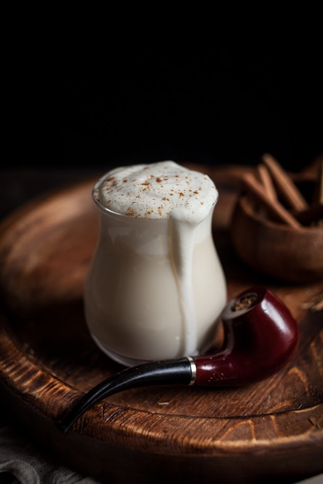 Hot buttered Hazelnut Whiskey Holiday Cocktail