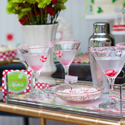 Whipped Chocolate Peppermint Martini Recipe