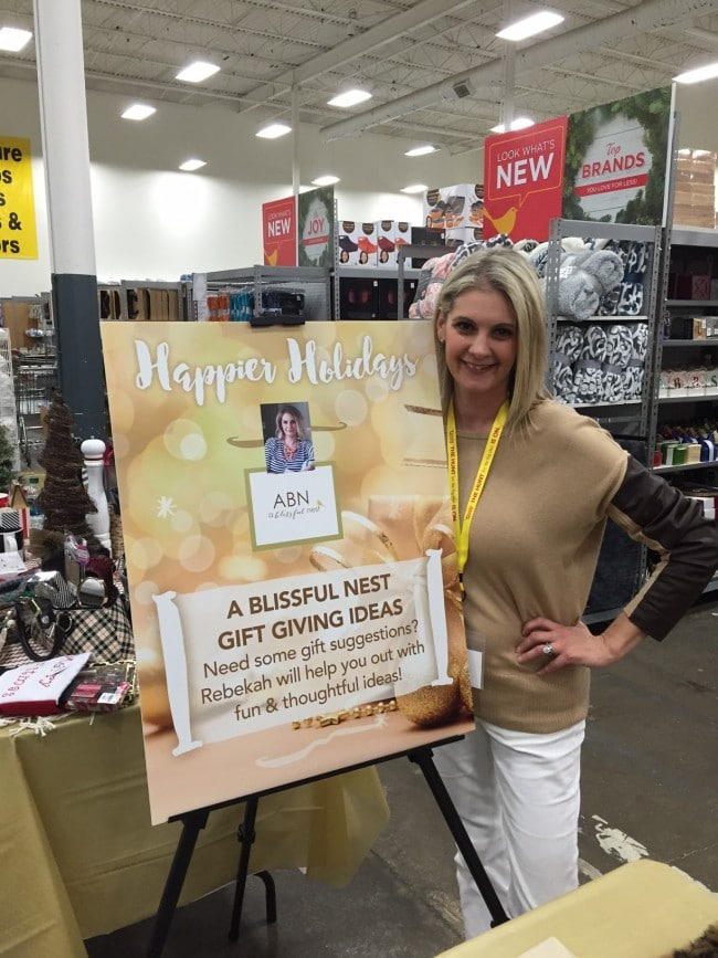 Happier Holidays Event With Tuesday Morning