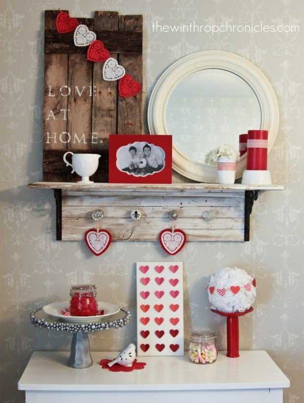 valentine's day home decor ideas - 25 best ideas