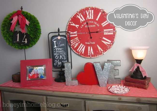 valentines day home decor ideas - Valentines Day Decor