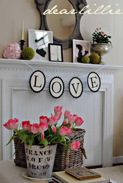 Valentine's Day Home Decor Ideas - 25 BEST Ideas
